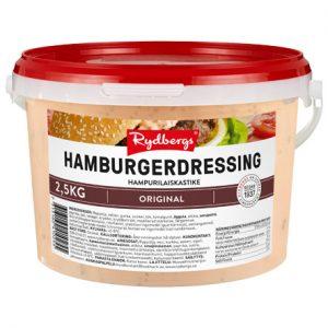 Hamburgerdressing 2,5 kg