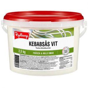 Kebabsås Vit 2,5 kg