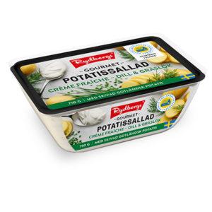 Potatissallad Gourmet créme fraiche dill & gräslök 750 g