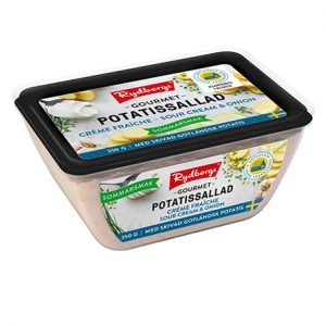 Potatissallad Gourmet créme fraiche sour cream & onion 350 g